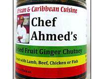 Chef Ahmed's Dried Fruit Ginger Chutney